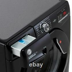 Hoover H3W4102DBBE H-WASH 300 10Kg 1400 RPM Washing Machine Black E Rated New