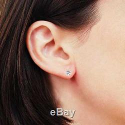 IGI Certified 1/3 cttw (K-L I1-I2) 14K White Gold Diamond Stud Earrings