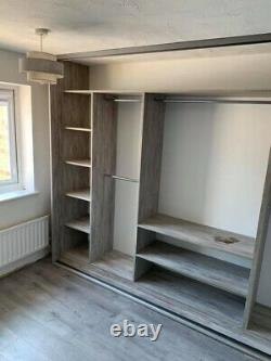 Individual Design Fitted Wardrobe Storage. Made To Measure. Custom Design