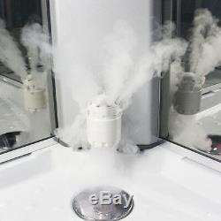 Insignia Steam Shower Cabin Enclosure Cubicle 900x900mm Quadrant 2nd Generation
