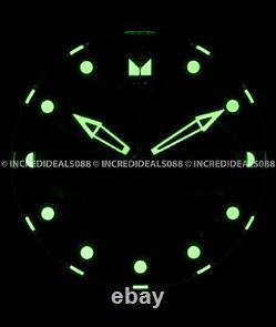 Invicta Mens Pro Diver SCUBA Chronograph 18Kt Gold Black DIal White Strap Watch