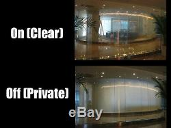 InvisiShade Switchable Privacy Film Smart Glass Window Blind Shade PDLC Eglass