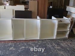 Kitchen Units RIGID BUILT NOT FLAT PACK White Handleless MATT Doors Brand New