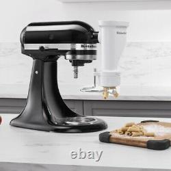 KitchenAid Gourmet Pasta Press Attachment Bucatini, Rigatoni, Spaghetti, Fus