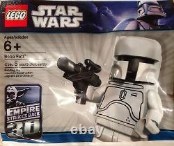 LEGO White Boba Fett Star Wars BRAND NEW SEALED