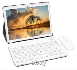 Laptop PC Tablet 2 in 1 10 Android 10 Quad-Core 4GB RAM 64GB ROM GPS SIM WIFI