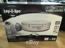 Lazy Lay-Z Spa Vegas Hot Tub Jacuzzi 6 Person BRAND NEW NEXT DAY DELIVERY