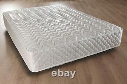 Luxury 2ft6, 3ftsingle, 4ft, 4ft6 Double, 5ft King Quilted Mattress 10 Amelia