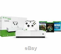 MICROSOFT Xbox One S All-Digital Edition with Minecraft, Sea of Thieves, Fortnit