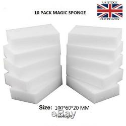 Magic Sponge eraser sponges x 10 Melamine Foam Stain Dirt Remover fablogix