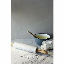 Marble Veneto Calcutta Effect Kitchen Worktop 38mm, Laminate 3m x 600mm x 38mm
