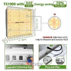 Mars Hydro TS 1000W LED Grow Light Full Spectrum for Indoor Plant Veg Flower HPS