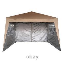 Mcc 3 x 3 m Pop up Gazebo Waterproof Outdoor Garden Marquee Canopy WS