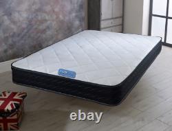 Memory Foam Luxury Matress Spring Mattress 4'6 Double 5ft King bed orthopaedic