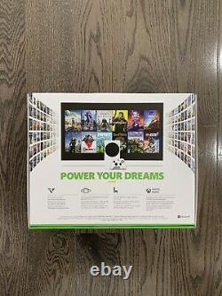 Microsoft XBOX Series S Console 512 GB SSD Brand New WHITE SHIPS NOW SHIPS FREE