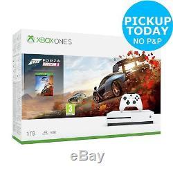 Microsoft Xbox One S 1TB Console & Forza Horizon 4 Bundle White