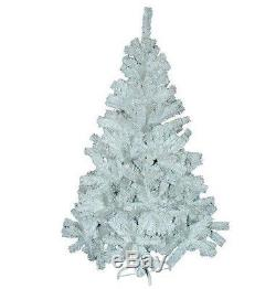 New 6ft-180cm Snow White Pine Artificial Christmas Xmas Tree 400 Tips Free Post