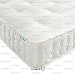 New Pocket Spring 2500 Series Damask Fabric Quilted Border Cheapest On Ebay