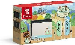 Nintendo Switch Animal Crossing New Horizon Special Edition Console BRAND NEW