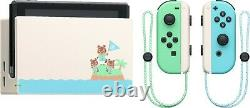 Nintendo Switch Animal Crossing New Horizons Special Edition Console Brand New