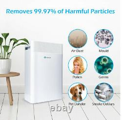 PureMate 5-in-1 Air Purifier with True HEPA Filter, Carbon & Negative Ions