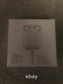 Sealed Brand New Apple AirPods 2nd Gen. Earphones With Charging Case