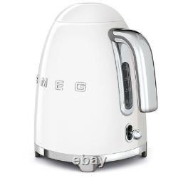 Smeg KLF03WHUK White 50's Retro Style 3Kw Kettle + 2 Year Warranty (Brand New)
