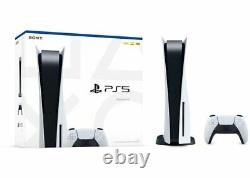 Sony PS5 PlayStation 5 Blu-Ray Disc Edition BRAND NEW IN HAND SHIPS NOW