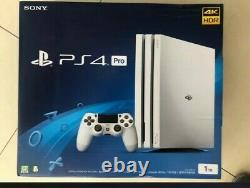 Sony PlayStation 4 Pro 1TB Glacier White Console Brand New