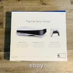 Sony PlayStation 5 Console Disc Version PS5 Brand New Ships Fast