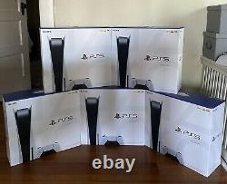 Sony PlayStation 5 Console Disc Version PS5. IN HAND BRAND NEW SHIPS TODAY