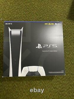 Sony PlayStation 5 DIGITAL VERSION PS5 Console IN HAND SHIPS TODAY BRAND NEW