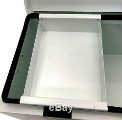 Steel Van Site Secure Box Tool Storage Vehicle Security Vault Safe Box 2 Keys