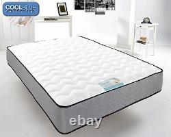 Touch Cool Blue Memory Foam Mattress Next Day Delivery