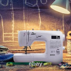 Uten Pro Computerised Sewing Machine Embroidery Quilting LED 60Stitches Beginner