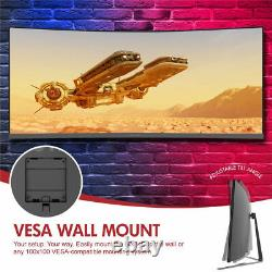 Viotek GN34C 34-In Gaming Monitor QHD Ultrawide Curved 219 1440p 100Hz FreeSync