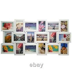 Wall Mounted 18 Multi Photo Frame Family Love Friends Party Picture Album Frames