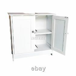 WestWood Vanity Unit Wooden Under Sink Wash Basin Bathroom Cabinet Storage New