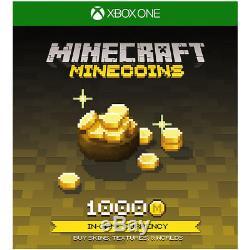 Xbox One 234-00661 Xbox One S 1TB Minecraft, Minecraft Starter Pack, Minecraft