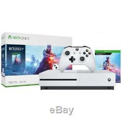 Xbox One S 1TB Battlefield V Bundle Battlefield V Deluxe Edition included