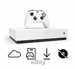 Xbox One S All Digital Edition & 3 Game Console Bundle White